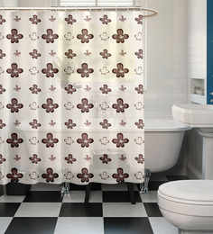 Cortina Multicolour Polyester Shower Curtain