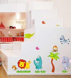 Cortina PVC Vinyl Jungle Theme Wall Sticker