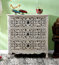 Erykah Chest of Drawer in Distress Finish by Bohemiana