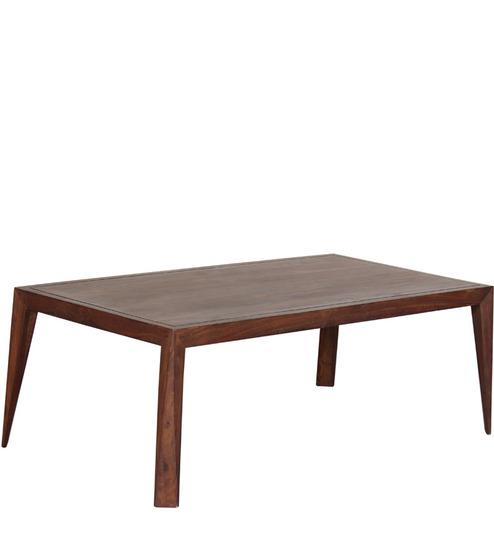 Buy Bogota Solid Wood Coffee Table In Sheesham Wood By Woodsworth Online Living Room Furniture
