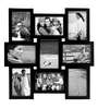 Snap Galaxy Black Synthetic Wood 5 x 7 Inch Frame Photo Collage