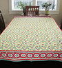Cocobee Multicolour Cotton Table Cloth (Model No: TCJ169)