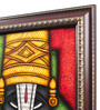 Cocovey Canvas 16 x 2 x 16 Inch Tripati Lord Handmade Framed Rajasthani Style Phad Painting