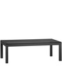 Coffee Table - Rectangle Black Glass by Asian Arts