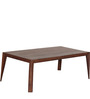 Bogota Solid Wood Coffee Table in Sheesham Wood by Woodsworth