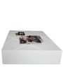 Coffee Table in White Color by Arsya Designs