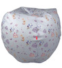 Color Fairy Digital Printed Bean Bag Cover in Multicolour by Orka