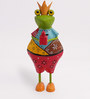 Colorful Party Frog Figurine by The Yellow Door