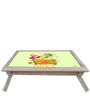 Colour Fairies Digital Printed Folding Wooden Laptop Table by Orka