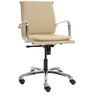 Comfortable Ergonomic Chair in Beige Colour by FabChair