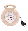 Cona Smyle Golden With Pink Ring 4 Meters 2-Pin Extension Cord