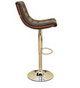 Concord Bar Chair in Brown Colour by HomeTown