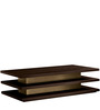 Pagoda Style Coffee Table in Brown Colour by Afydecor
