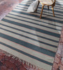 Contrast Living Multicolour Cotton 36 x 24 Inch Printed Area Rug