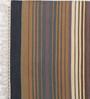 Contrast Living Multicolour Cotton 36 x 60 Inch Stripe Shuttle Area Rug