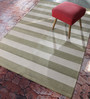 Contrast Living Multicolour Jute 48 x 72 Inch Printed Hand Woven Dhurrie