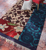 Contrast Living Multicolour Cotton 72 x 48 Inch Floral Area Rug