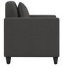 Cooper One Seater Sofa in Royal Grey Colour by ARRA