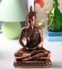 Micasa Copper Polyresin Meditating Buddha