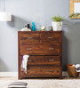 Edmonds Chest of Drawers in Provincial Teak Finish by Woodsworth