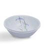 Corelle Asia Shadow Iris White & Green Vitrelle Glass 1L Serving Bowl Set