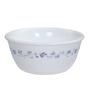 Corelle India Impression White and Blue Vitrelle Glass 177 ML Bowl - Set of 6