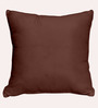 Cortina Brown Polyester 16 x 16 Inch Cushion Covers - Set of 5