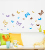 Cortina Butterfly Theme PVC Vinyl Wall Sticker