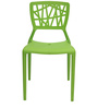 Cosmos Stackable Chair in Green Colour by Starshine