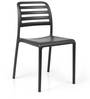 Nardi Costa Bistrot Chair in Antracite Finish by Patios