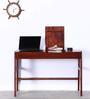 Amery Study & Laptop Table in Honey Oak Finish by Woodsworth