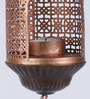 Courtyard Copper Iron Amba Antique Hanging Tea Light Holder