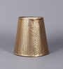 Courtyard Gold Metal Lamp Shade