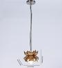 Courtyard Kamalam Gold Hanging Lamp