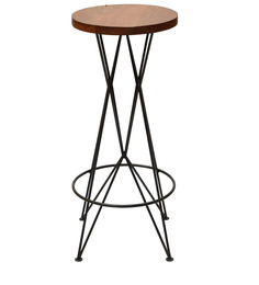 Traversa Bar Stool in Black Colour by Taamaa