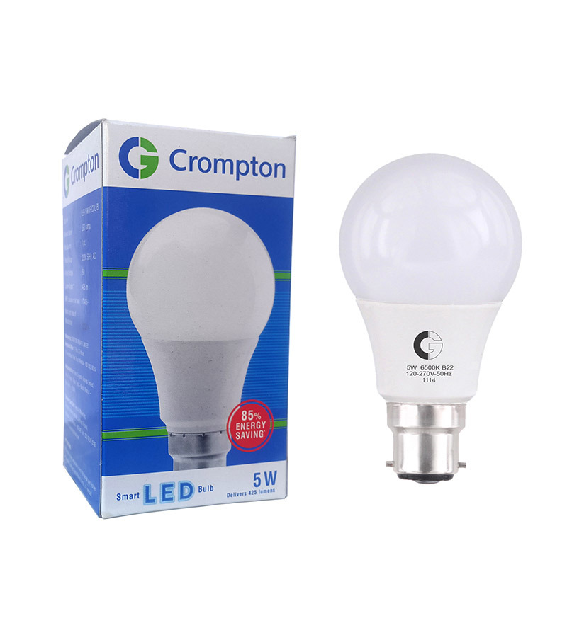 Led Wall Light Crompton: Crompton Greaves 5w Cool Day Light 5W Bulb By Crompton