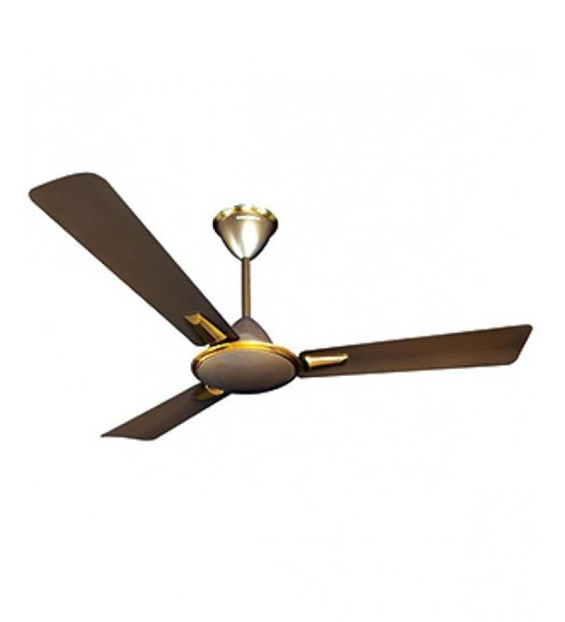 Crompton Greaves Aura Dusky 1050mm Brown Metal 3 Blade Ceiling Fan