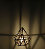 Craftter Copper-colored 0.5W LED Diamond-shaped Hanging Lamp