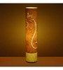 Craftter Ganesha Yellow Textured Floor Lamp