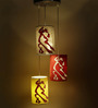 Craftter 3-Piece Dancing Couple Hanging Lamp 1 Pc.