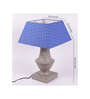 Crosby Table Lamp in Blue by Amberville