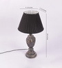 Croydon Table Lamp in Black by Amberville