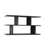 Crystal Furnitech Wenge Engineered Wood Sphinx Wall Shelf