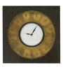 Walasek Wall Clock in Multicolour by Amberville
