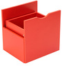 Yuma Cube Cabinet Drawer in Red Colour by Mintwud