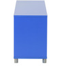 Yuma Cube Cabinet in Blue Colour by Mintwud