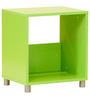 Yuma Cube Cabinet in Green Colour by Mintwud