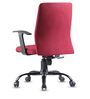 Cube Ergonomic Chair in Maroon Colour by VOF