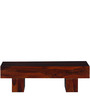 Oakville Low Height Solid Wood Coffee Table in Honey Oak Finish by Woodsworth