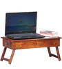Oakville Low Height Solid Wood Study Table in Honey Oak Finish by Woodsworth